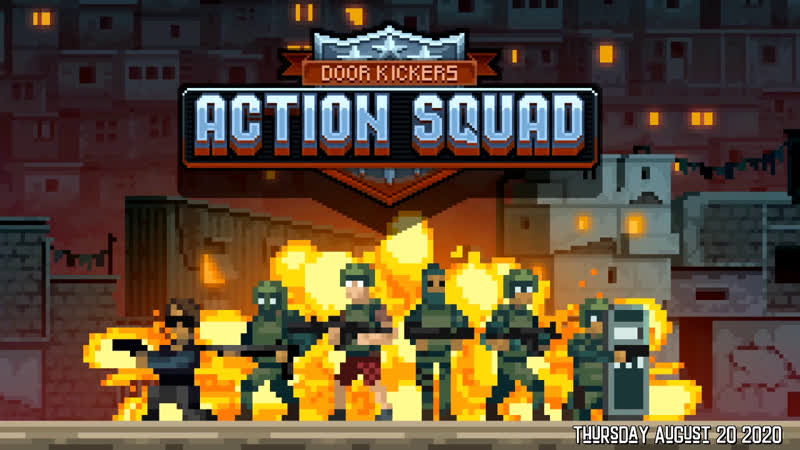 Door Kickers Action Squad - Lets go bust down some doors! DoorKickersActionSquad RichardOnRetro