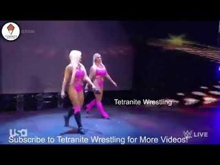 Nia Jax & Shayna Vs Lana y Naomi - WWE Raw 19/04/2021 (En Español)