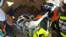 KTM Motocross Crash Dubai - Rudz - Arm Gets Stuck In Wheel