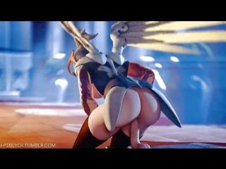 3d hentai (uncen) mercy (compilation) ( overwatch )
