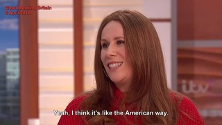 catherine tate talks about her FAKE birthday