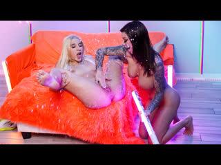Abella Danger, Karma Rx - Neon Dreaming (Lesbian, Squirt, Big Ttis, Blonde, Brunette, Sex Toys, Dildo, Gonzo, Natural Tits)