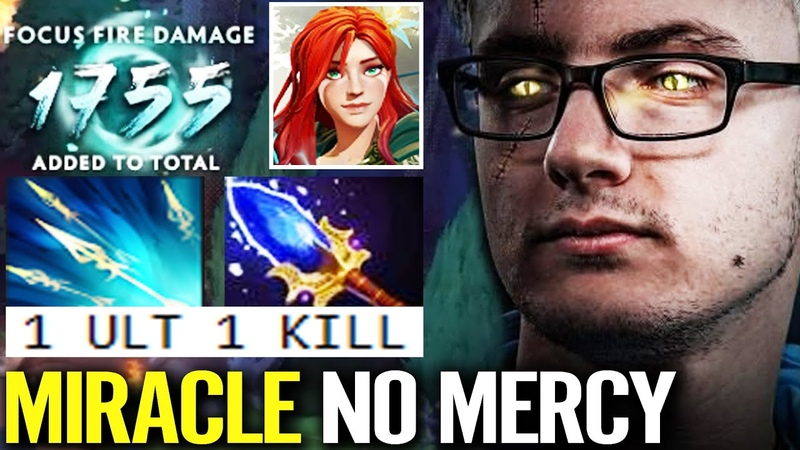 MIRACLE IS BACK WITH NO MERCY Windranger ARCANA Aghanim 1755 Focus Damage IMBA Ult Dota 2 Pro Build