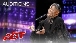 Sheldon Riley Surprises the Judges With a Soulful Billie Eilish Cover - America's Got Talent 2020
