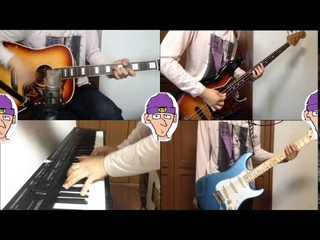 """Radiohead """"Paranoid android"""" - guitar cover"""