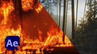 Make a SUPER REALISTIC Forest Fire in After Effects Tutorial