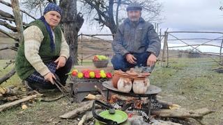 Piti Azərbaycan mətbəxi, Cooking on Nature, Outdoor Cooking