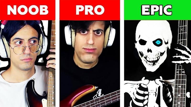 Spooky Scary Skeletons NOOB vs PRO vs EPIC