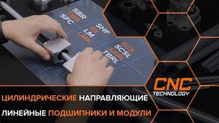 Цилиндрические направляющие и модули к ним  для сборки станков и прочих механизмов