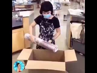 Мастер класс от работницы