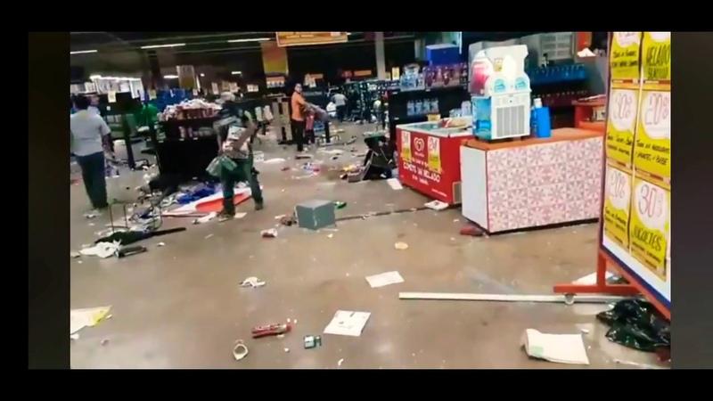 COVID19 coronavirus and criminal грабят магазины