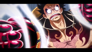 Luffy 4th Gear edit / One piece
