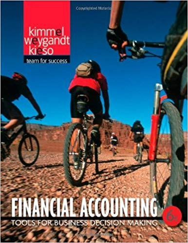 Financial Accounting Tools for Business Decision Making by Paul D. Kimmel