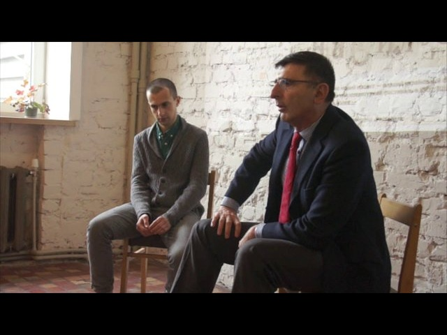 Lubko Deresh and Paco De Blas on Ukrainian Literature Festival at IZOLYATSIA