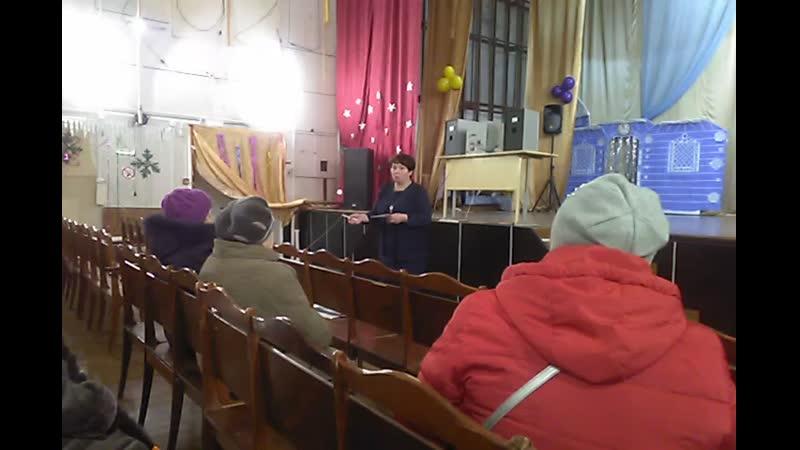 Встреча с Главой МО Луковецкое январь-2020