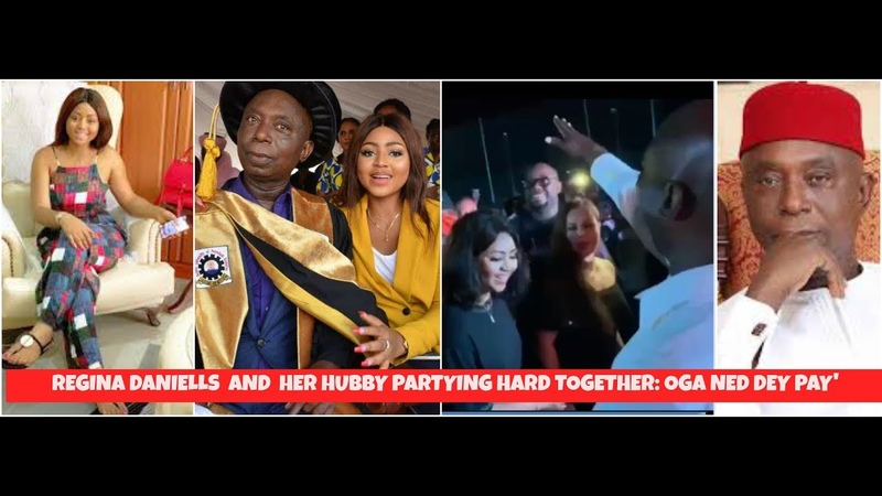 Regina Daniels And Hubby Ned Nwoko Dancing Together || 'Oga Ned Dey Pay'