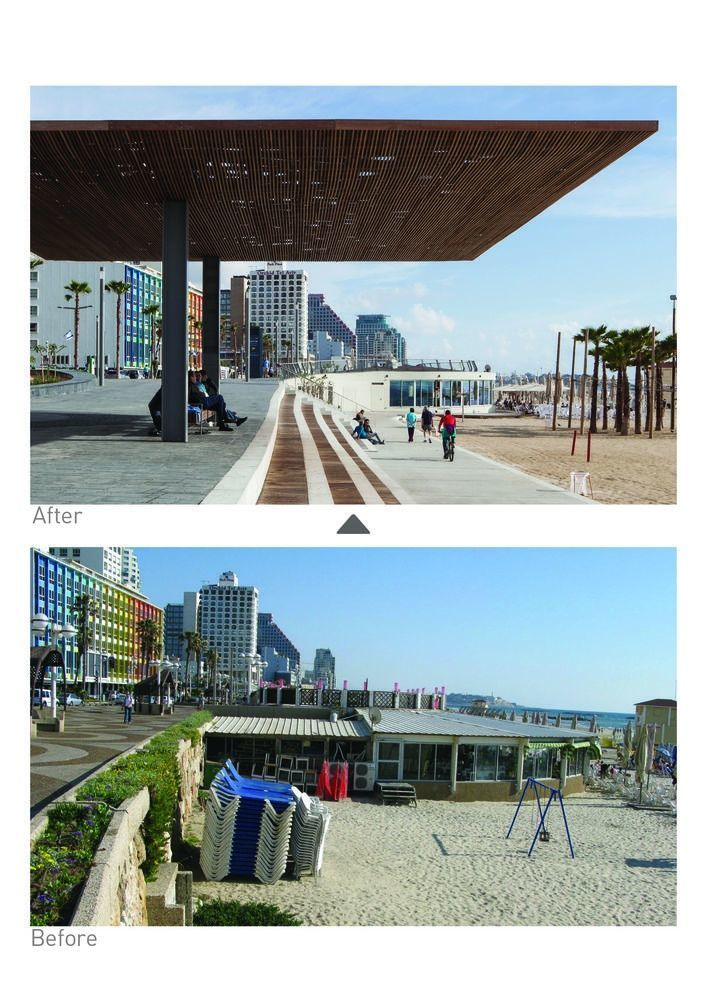 Tel Aviv's Central Promenade Renewal / Mayslits Kassif Architects