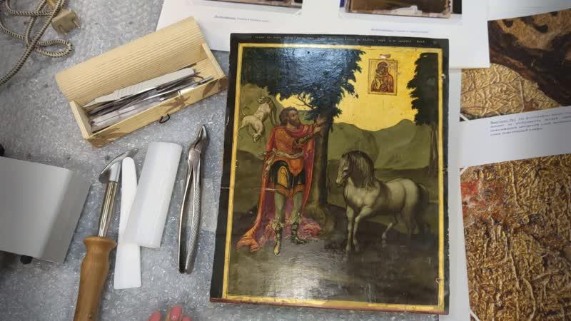 Реставратор о работе с произведениями темперной живописи