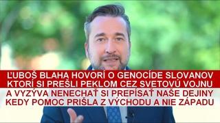 Ľuboš Blaha o utláčaní Slovanov a pomoci, ktorú nám poskytli ruskí bratia