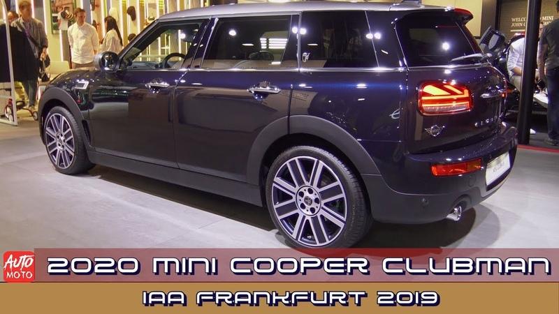 2020 Mini Cooper Clubman - Exterior And interior - IAA Frankfurt 2019