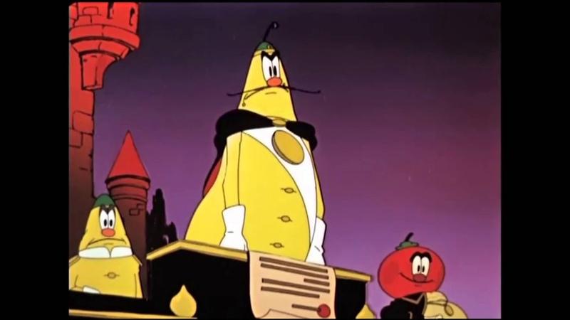 Самый актуальный отрывок из мультфильма Чиполлино.