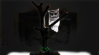 Самодельный светильник ночник своими руками