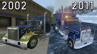 Evolution of 18 Wheels of Steel / 2002 - 2011 / Эволюция серии игр 18 Wheels of Steel