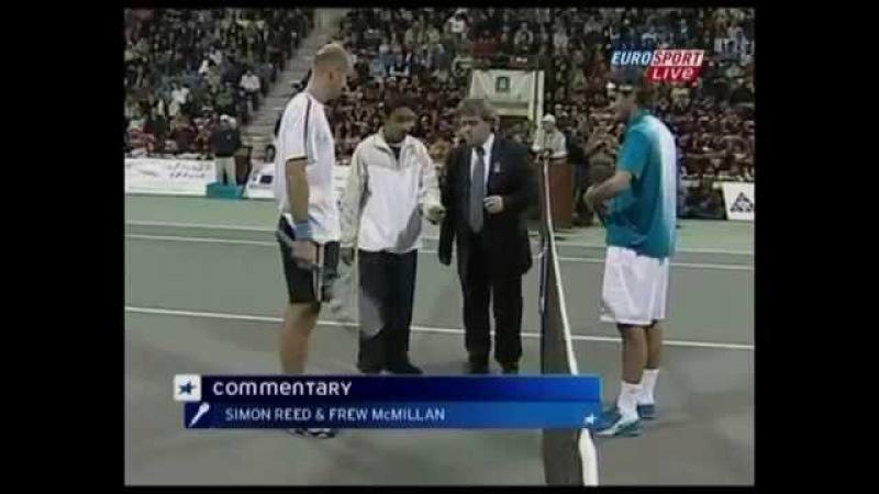 Roger Federer vs Ivan Ljubicic (2005 Qatar Open - Final)