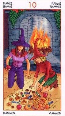 Таро Юных Ведьм. Младшие Арканы. Факелы R3MmYP1AsOY