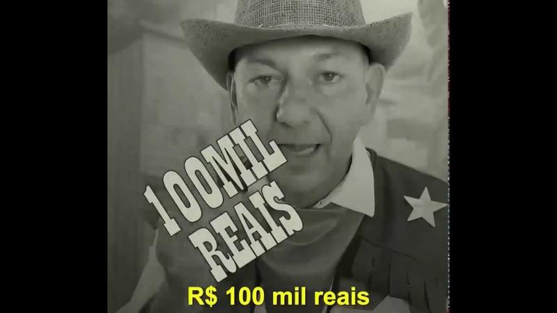 R$ 100 mil de recompensa duro é funcionário da Havan ter de rir escondido de ver o chefe pagar este mico né?