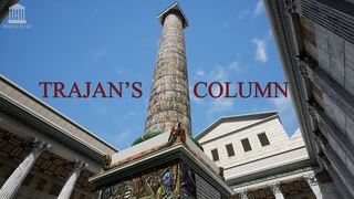 """""""HISTORY IN 3D"""" - ANCIENT ROME 320 AD - Trajan's column FULL-PAINTED 3D reconstruction"""