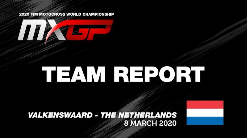 Team Report JM Honda Racing MXGP of The Netherlands 2020 motocross