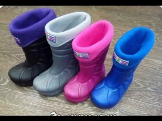 """Непромокаемые супер-сапожки  от Интернет-магазина детских товаров """"Егоша"""""""