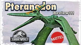 "2021 Mattel Jurassic World ""Basic"" Pteranodon Review!!!"
