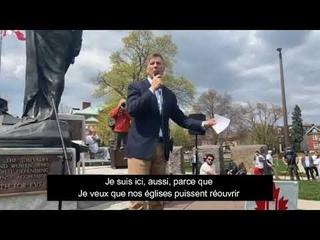 🗽 Maxime Bernier livre un discours percutant sur la liberté!