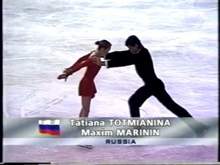 Tatiana Totmianina & Maxim Marinin RUS - 1999 Cup of Russia LP