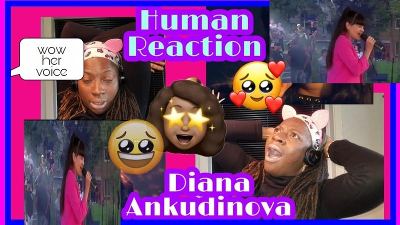 Diana Ankudinova Human Диана анкудинова NigerianGirl reacts to Диана анкудинова singing in D street