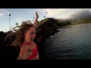SUP и клифф-джампинг на Мауи