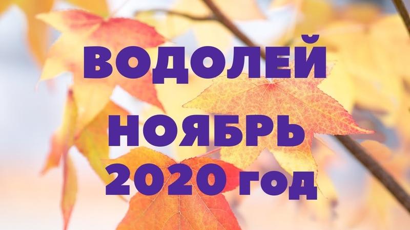 ТАРО ПРОГНОЗ ВОДОЛЕЙ НОЯБРЬ 2020Г