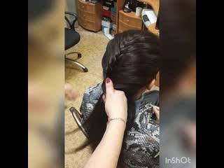 МАСТЕР-КЛАСС (причёски - 🐬РЫБИЙ ХВОСТ🐬)