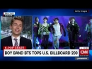 Thank you @CNNToday for having me on to talk about @BTS twts history making accomplishment on the Billboard charts! You can watc
