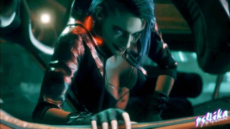 Release Cyberpunk 2077 V Blue Female Mod for RE3 Jill