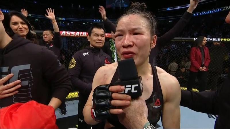 UFC 248 Zhang Weili Joanna Jedrzejczyk Octagon Interviews