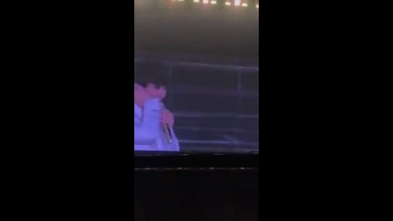 FANCAM 180714 Kai Chanyeol and D O during 2nd Ment @ The ElyXiOn dot in Seoul Cr vely nini ElyXionDotinSeoulD2 TheEl