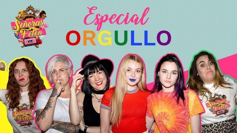 ¿Cómo salir del armario? con Melo Moreno y Croana (Skam España) | Señoras Fetén especial Orgullo