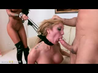 Angelina Valentine, Amy Brooke - Double Teaming A Cheap Whore, Anal, Whore, Blowjob, Big Tits, Clit Piercing, Latina, Deepthroat