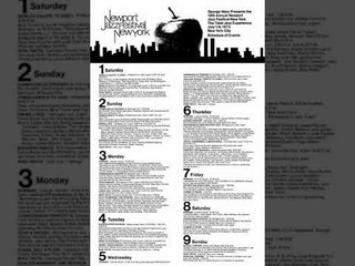 NEWPORT NYC : ROY, BOBBY, CARTER, BUD, VIC, NORVO, TEDDY, RIDLEY, JIM HALL, GENE (Radio City)