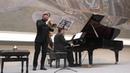 Моцарт Соната для скрипки и клавира ми минор исп С Накаряков флюгельгорн Е Брахман фортепиано