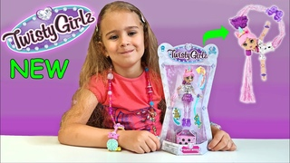 NEW! TWISTY GIRLZ - 'Glitzy Bitzy' Unicorn - Series 1 Dolls