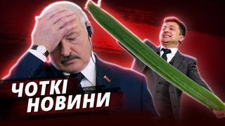 Крах Лукашенко, Огірок Зеленського та Приниження Соловйова | ЧОТКІ НОВИНИ